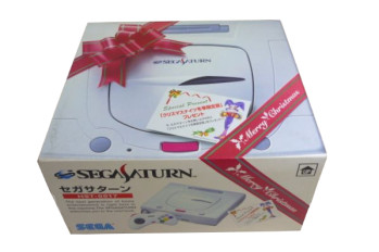 SEGA Saturn Second Version Christmas Nights Pack HST-0017