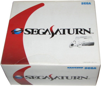 SEGA Saturn Second Version Pack HST-0019