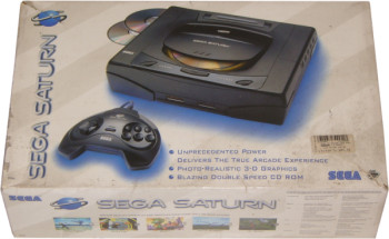 SEGA Saturn USA First Version Pack