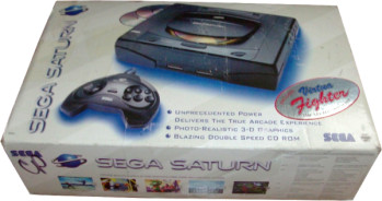 SEGA Saturn USA First Version Virtua Fighter Bundle