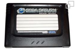 SEGA Backup Memory Card (SEGA Saturn)
