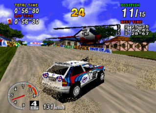 SEGA Rally (SEGA Saturn)