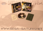 SEGA Saturn Game with Goodies