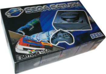 SEGA Saturn First Version Daytona USA Bundle