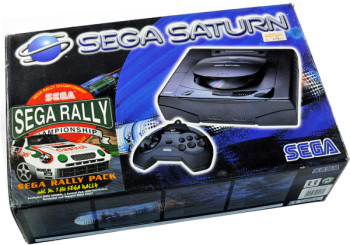 SEGA Saturn First Version SEGA Rally Bundle