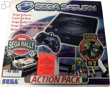 SEGA Saturn Second Version Action Pack Bundle