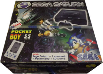 SEGA Saturn Second Version Pocket Boy Bundle