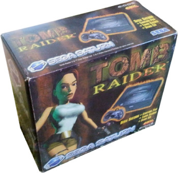 SEGA Saturn Second Version Tomb Raider Bundle