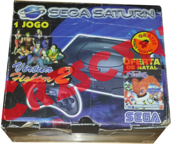 SEGA Saturn Second Version Virtua Fighter 2 Bundle