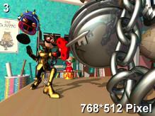 Clockwork Knight Wallpaper 768x512px