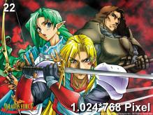 Dragon Force Wallpaper 1.024x768px