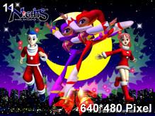 Christmas Nights Wallpaper 640x480px