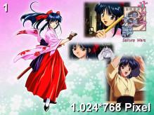 Sakura Wars Wallpaper 1.024x768px