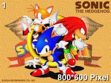 Sonic Jam Wallpaper 800x600px